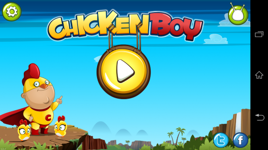 Меню - Chicken Boy для Android