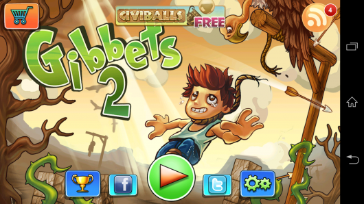 Меню - Gibbets 2 для Android