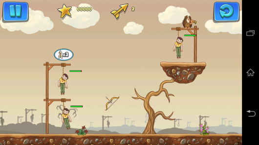 Стрельба из лука - Gibbets 2 для Android