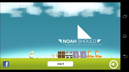 Начало игры - Noah Should для Android