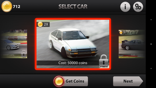 Toyota Corolla - CarX Drift Racing для Android