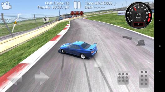 Езда боком - CarX Drift Racing для Android