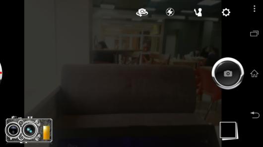Интерфейс - Pudding Camera для Android