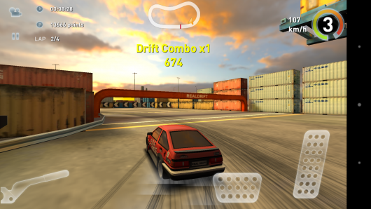 Toyota Corolla - Real Drift Car Racing для Android