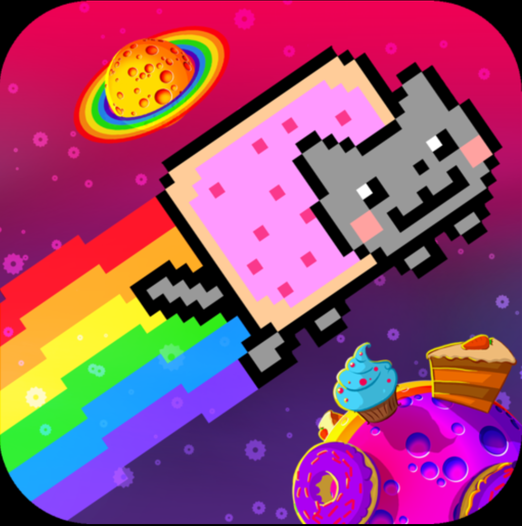 Иконка - Nyan Cat: The Space Journey для Android