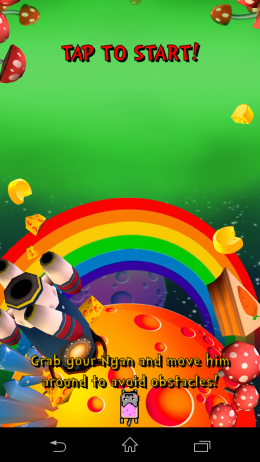 На старте - Nyan Cat: The Space Journey  для Android