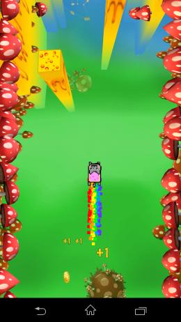 Радужный кот - Nyan Cat: The Space Journey  для Android