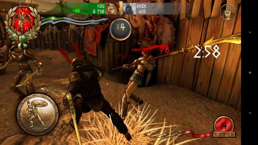 Атака - I, Gladiator для Android