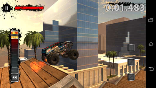 Прыжок с трамплина - MonsterJam для Android