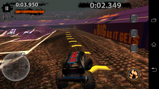 Гонка на время - MonsterJam для Android