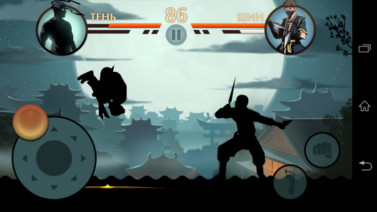Прыжок - Shadow Fight 2 для Android