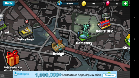 Уровни - Action of Mayday: Last Defense для Android