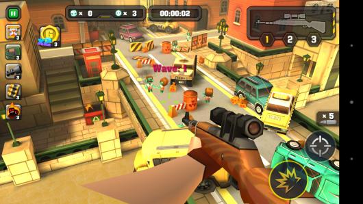 Снайперская винтовка - Action of Mayday: Last Defense для Android