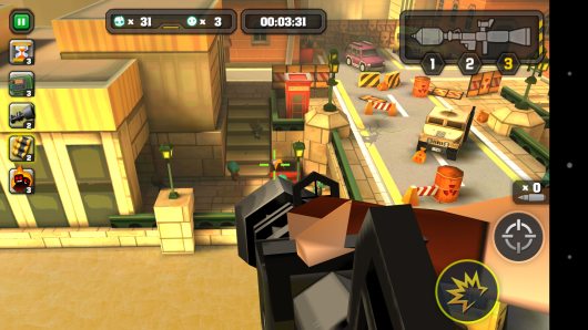 Пулемет - Action of Mayday: Last Defense для Android