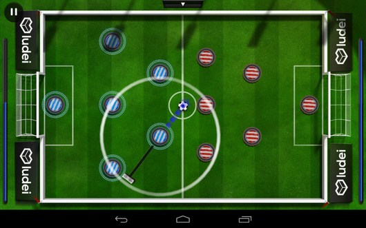 Делаем удар - Slide Soccer для Android