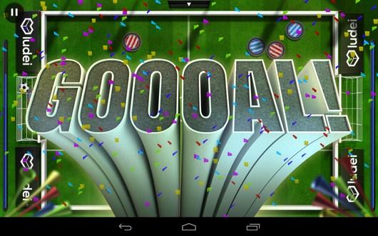 Забили гол - Slide Soccer для Android