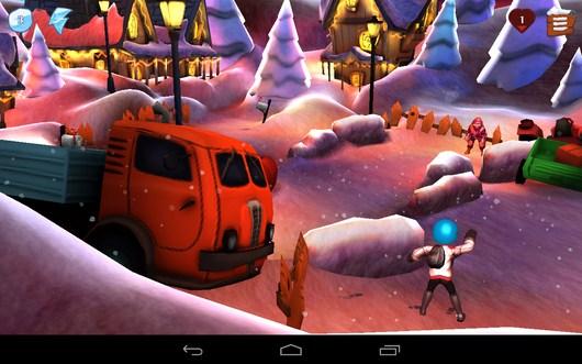 Обмен снежками - Snowdown для Android