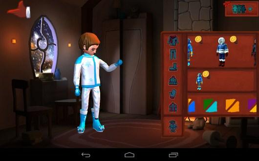 наряжаем персонажа - Snowdown для Android