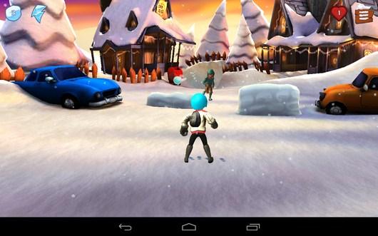 Первая войнушка снежками - Snowdown для Android