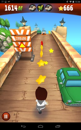 Бег по мосту - Stampede Run для Android