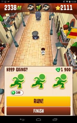 Продолжить игру - Stampede Run для Android