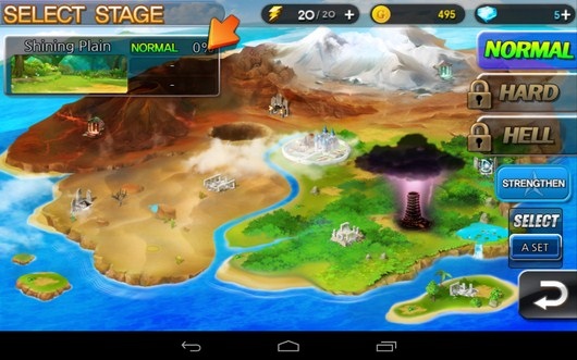 Игровой мир - Summon Masters для Android