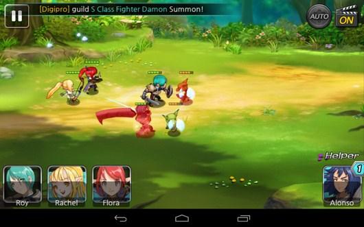 Бой в разгаре - Summon Masters для Android