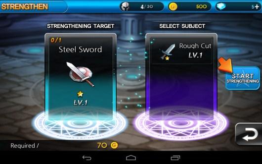 Создание нового умения - Summon Masters для Android