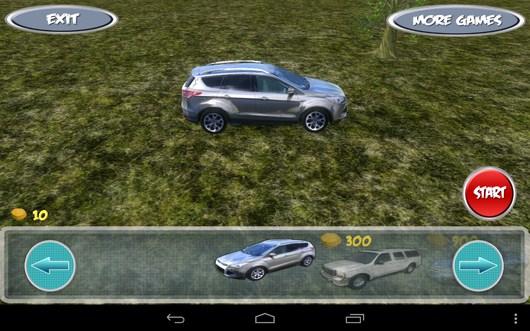 Выбор внедорожника - SuvDrive3D для Android