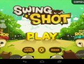 Прикольная аркада Swing Shot для Android