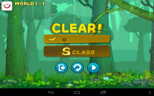 Итоги уровня - Swing Shot для Android