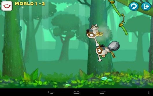 Враг повержен - Swing Shot для Android