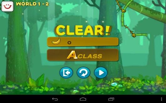 Уровень пройден успешно - Swing Shot для Android