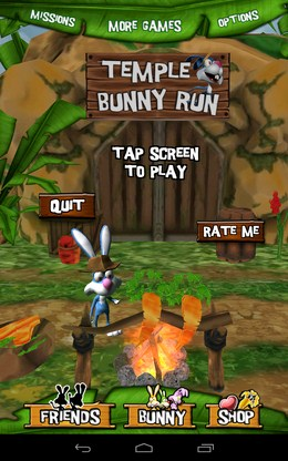 Раннер Temple Bunny Run для Android