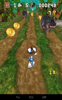 Уворачиваемся от животных - Temple Bunny Run для Android