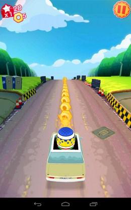 Собираем монеты - Top Gear: Race The Stig для Android