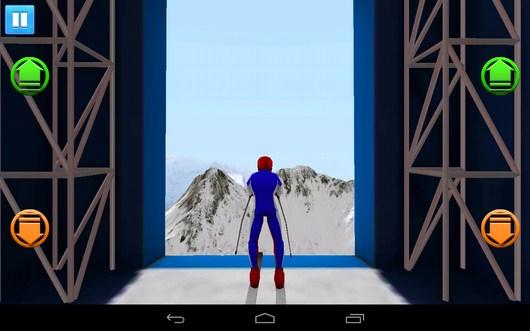 Начало состязания - Top Ski Racing 2014 для Android