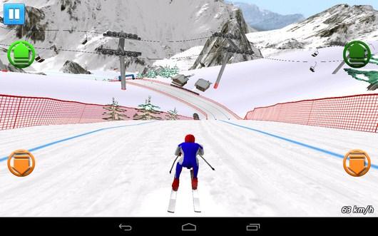 Крутой спуск - Top Ski Racing 2014 для Android