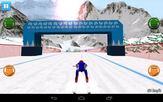Нибираем скорость - Top Ski Racing 2014 для Android