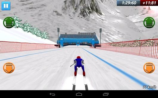 Виниш впереди - Top Ski Racing 2014 для Android