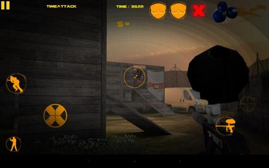 Стреляем в противника - XFPaintball для Android