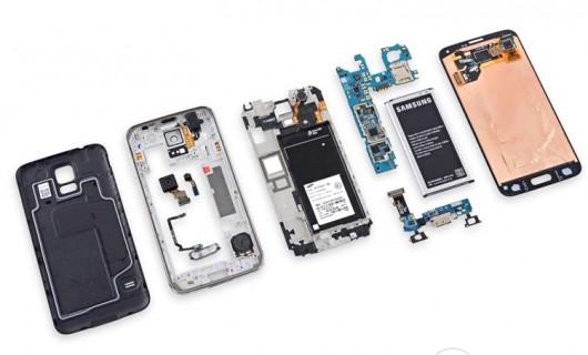 разобранный Galaxy S5
