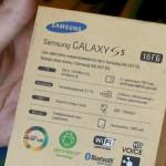 Видео с демонстрацией распаковки Samsung Galaxy S5 и комплекта поставки