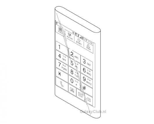 Трехгранный дисплей Samsung