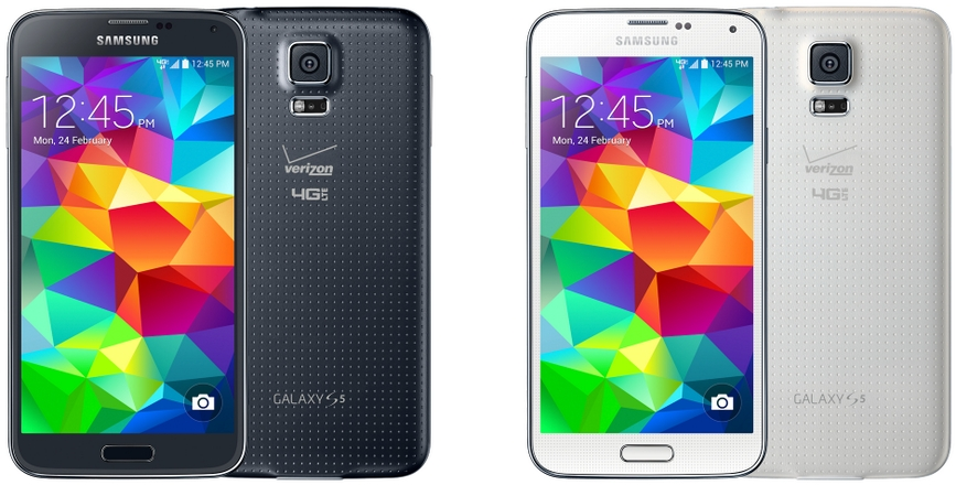 Galaxy S5 Verzion