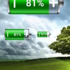 Виджет Батарейки – количество заряда