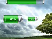 Три варианта плиток Виджет Батарейки для Android