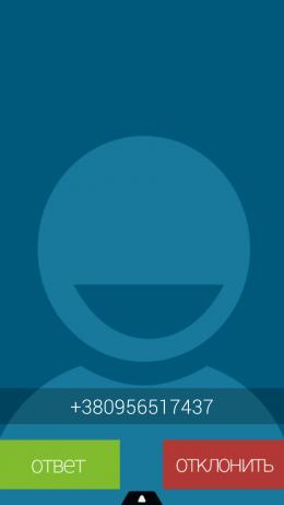 Входящий звонок - BIG! Caller ID для Android