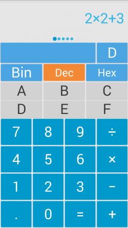 Интерфейс - Solo Calculator для Android