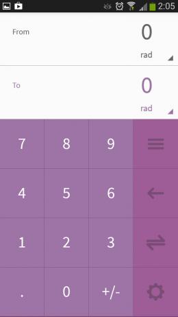 Ввод чисел - Flib для Android